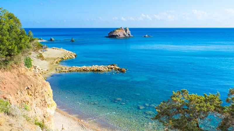 The Baths of Aphrodite is the famous tourist destination Cyprus.