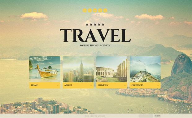 ιστοσελίδα τουριστικού γραφείου