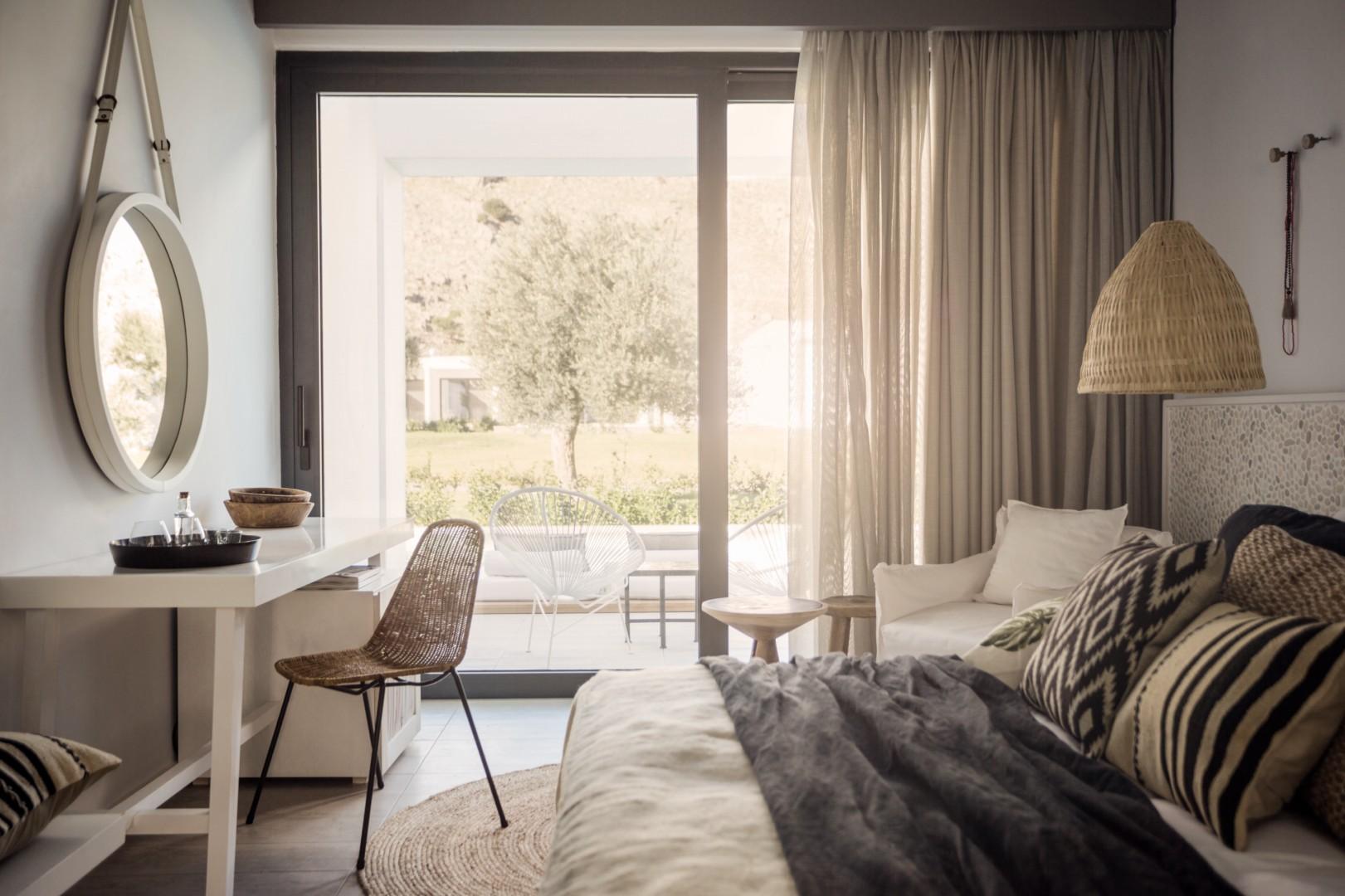 CasaCook_Rhodes_Standard Double Room Veranda